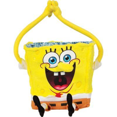 Plush SpongeBob Easter Basket