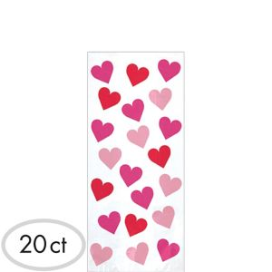 Small Key to Your Heart Treat Bags 20ct