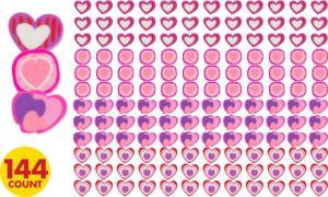 Valentine's Day Mini Erasers 144ct