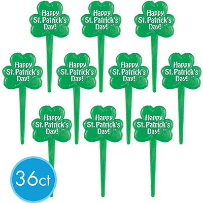 St. Patrick's Day Party Picks 36ct