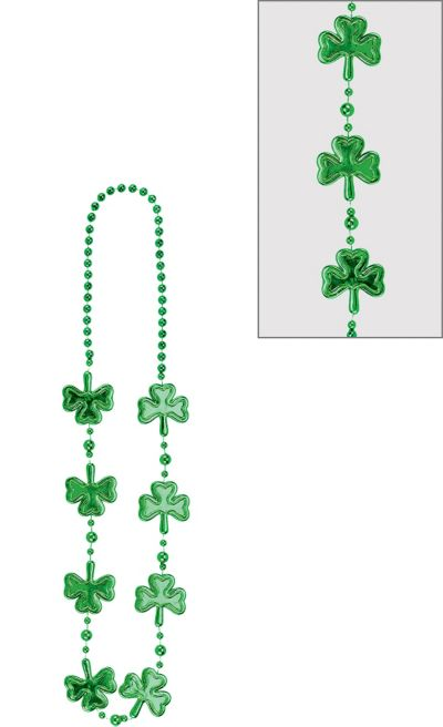Shamrock Bead Necklace