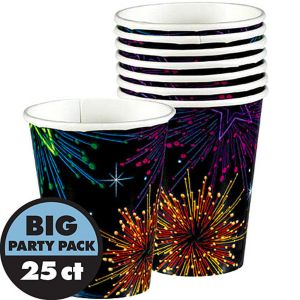 Night Lights New Year's Cups 25ct