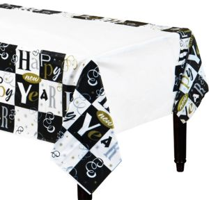 New Year's Block Party Table Cover