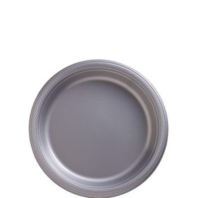 Silver Dessert Plates 20ct