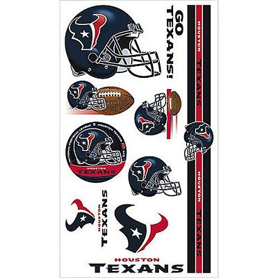 Houston Texans Tattoos 10ct