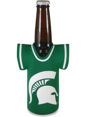 Michigan State Spartans Jersey Bottle Coozie