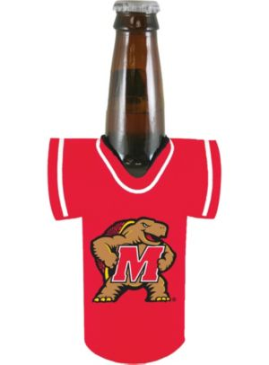 Maryland Terrapins Jersey Bottle Coozie