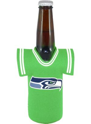 Seattle Seahawks Jersey Bottle Coozie