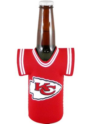Kansas City Chiefs Jersey Bottle Coozie