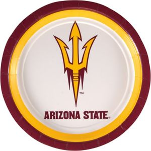 Arizona State Sun Devils Lunch Plates 8ct