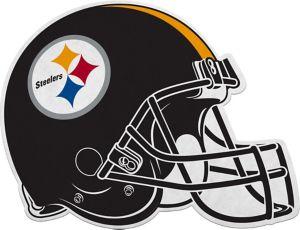 Pittsburgh Steelers Helmet Pennant