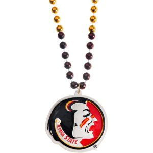 Florida State Seminoles Pendant Bead Necklace
