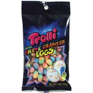 Trolli Sour Brite Eggs 78pc