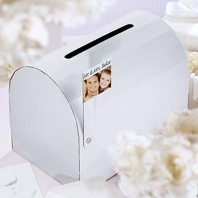 Reception Mailbox Gift Card Holder