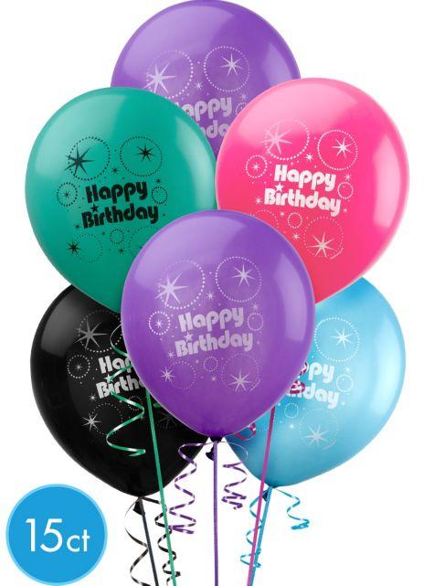 Happy Birthday Balloons Party City Balloons Party City