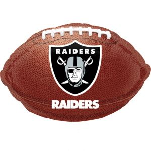 Oakland Raiders Balloon - Football