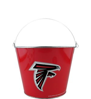 Atlanta Falcons Galvanized Bucket