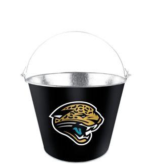 Jacksonville Jaguars Galvanized Bucket