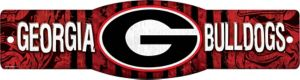 Georgia Bulldogs Street Sign