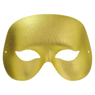 Gold Classic Masquerade Mask