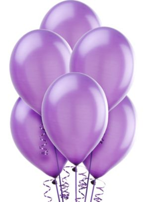 Hydrangea Pearl Balloons 10ct