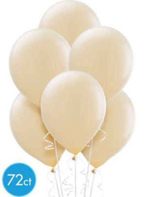Vanilla Cream Balloons 72ct