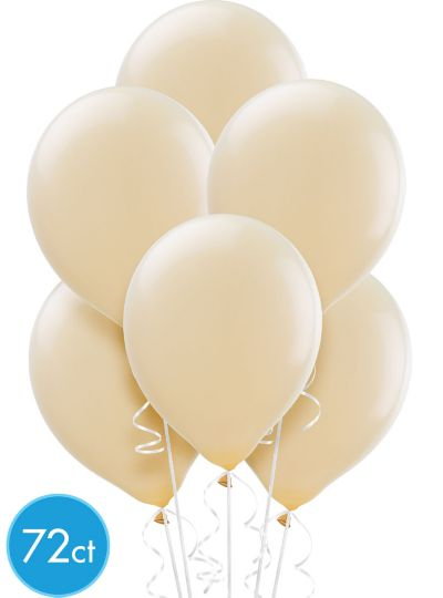 Vanilla Cream Balloons 72ct