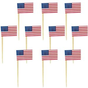 American Flag Party Picks 120ct