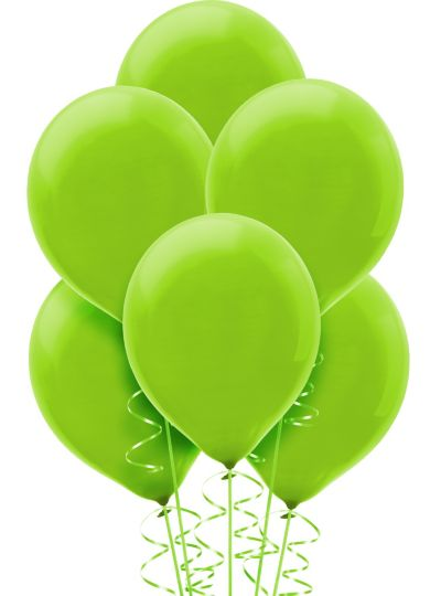 Kiwi Green Balloons 15ct