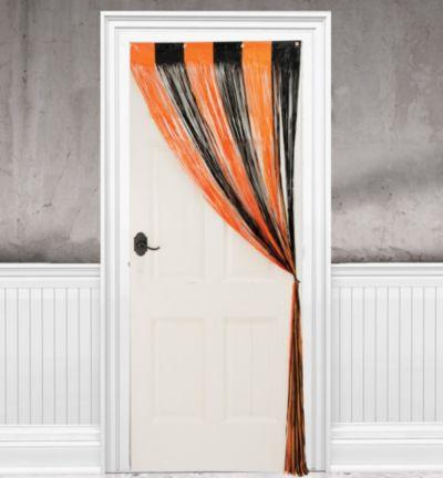 Halloween Fringe Doorway Curtain