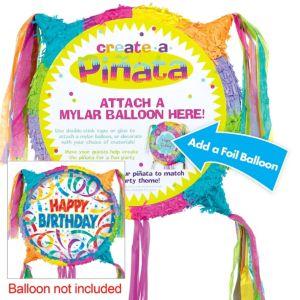 Pull String Add-a-Balloon Pinata