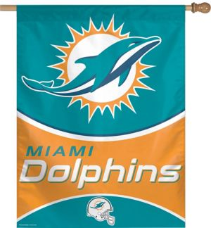 Miami Dolphins Banner Flag