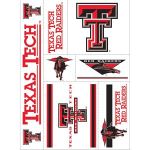 Texas Tech Red Raiders Decals 7ct