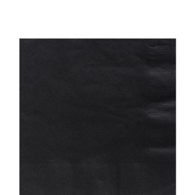 Black Lunch Napkins 125ct