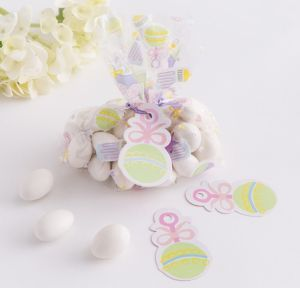 Multicolor Mini Baby Shower Favor Bag Kit 24ct