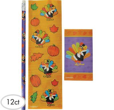 Thanksgiving Stationery Kits 12ct