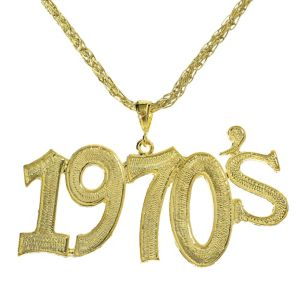 1970s Disco Necklace