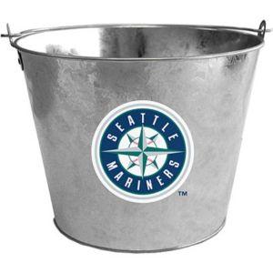Seattle Mariners Galvanized Bucket