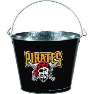 Pittsburgh Pirates Galvanized Bucket