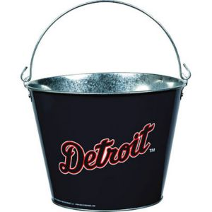 Detroit Tigers Galvanized Bucket