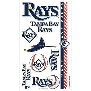 Tampa Bay Rays Tattoos 10ct