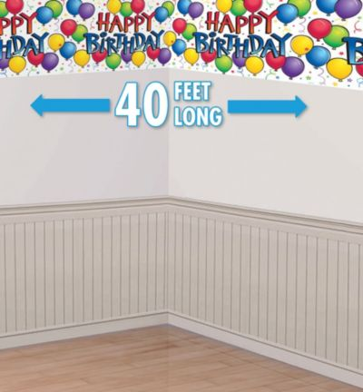 Balloon Fun Banner Room Roll 40ft