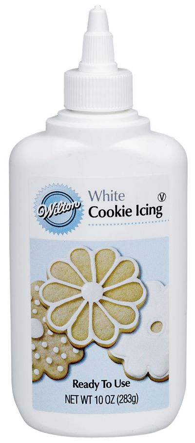 White Cookie Icing 10oz