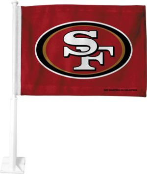 San Francisco 49ers Car Flag