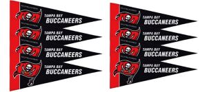 Tampa Bay Buccaneers Pennants 8ct