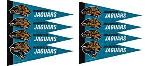 Jacksonville Jaguars Pennants 8ct