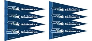 Seattle Seahawks Pennants 8ct
