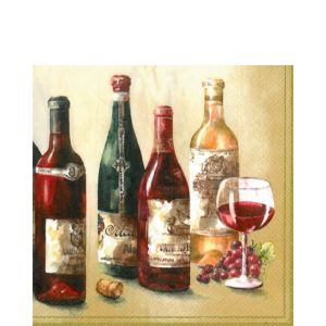 Wine Cellar Lunch Napkins 20ct