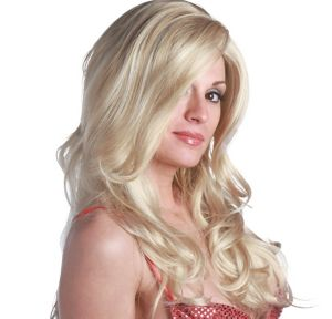 Siren Premium Long Wavy Light Blonde Wig
