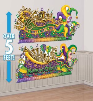 Mardi Gras Parade Float Banners